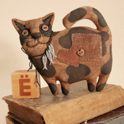 Primitive Thick Spotted Cat