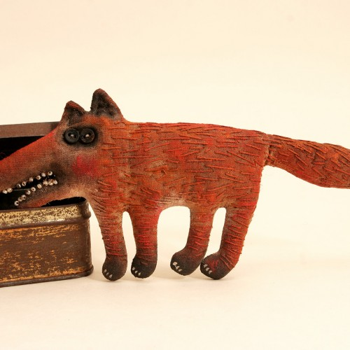 Primitive Red Fox