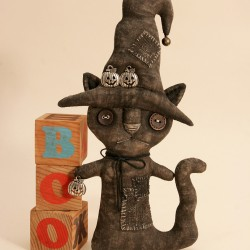 Halloween Primitive BlackCat